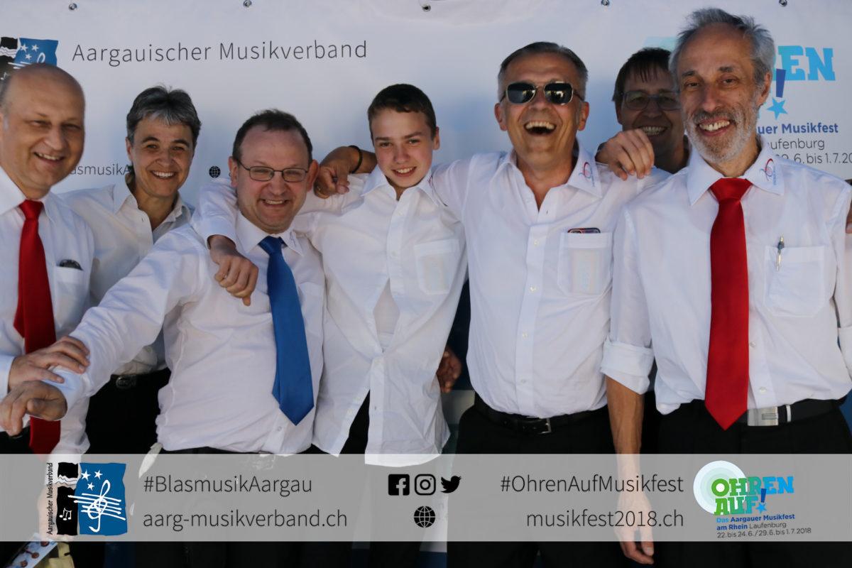 MG Riniken und Stadtmusik Brugg nehmen am Kantonalen Musikfest in Laufenburg teil