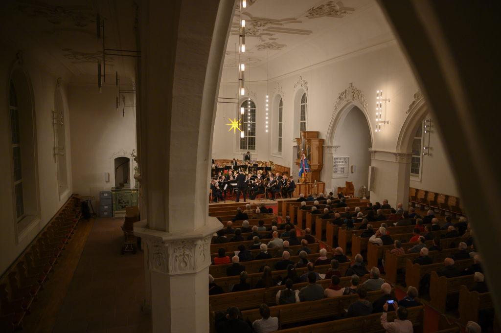 Konzert Stadtkapelle Rottweil, MG Riniken und Stadtmusik Brugg